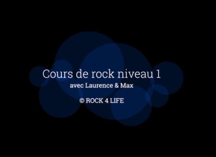 Vidéos Danse – Rock Niveau 1