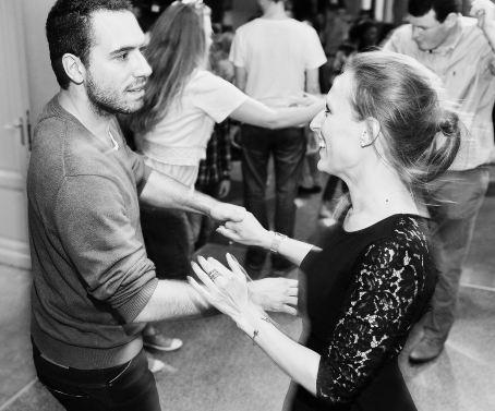 Cours de danse - Laurence et David