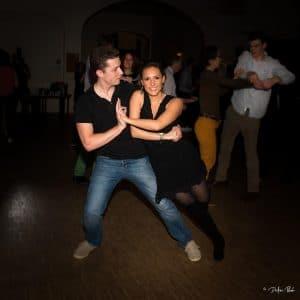 Cours de danse - Laurence et Max